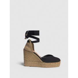 Castaner espadrille with wedge Chiara made in canvas 11 cm