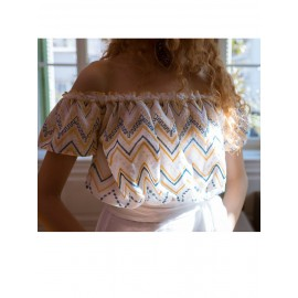 Embroidered crop top (limited edition)