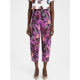 Balloon trousers flowers