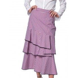 LONG SHIRT WITH CHECK PATTERN